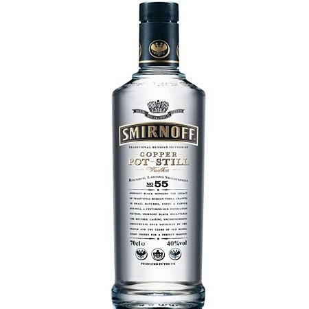 Rượu Vodka Smirnoff Black 0.70L