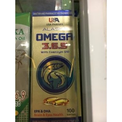 Omega 3-6-9 with coenzym