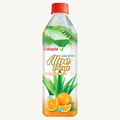 Aloe Vera with Orange Juice Drinks
