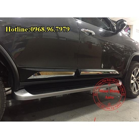 ỐP HÔNG TOYOTA FORTUNER 2016, 2017 CAO CẤP
