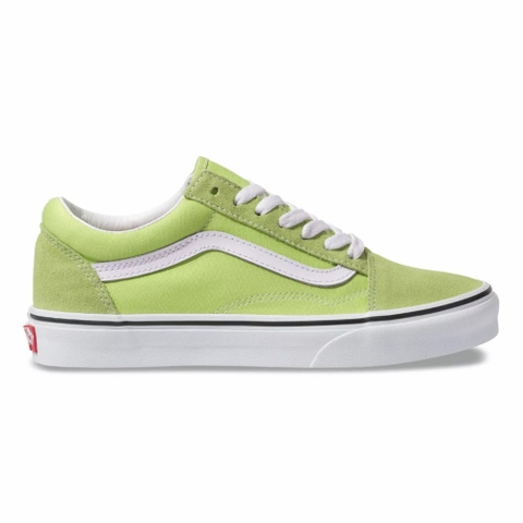 VANS OLD SKOOL SHARP GREEN TRUE WHITE