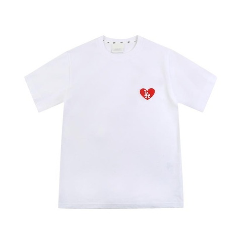 MLB Áo LOVE basic white