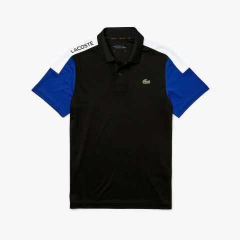 Lacoste Polo SPORT Breathable Pique Black Navy