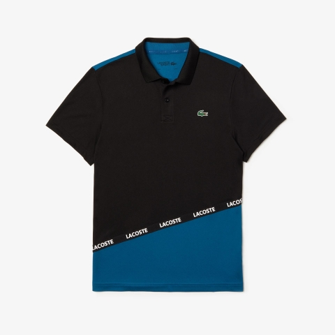 Lacoste Polo Sport Pique Black Blue (form Âu)