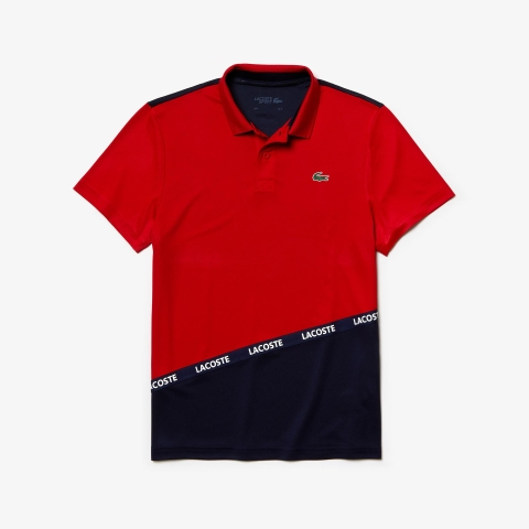 Lacoste Polo Sport Pique Red (form Âu)