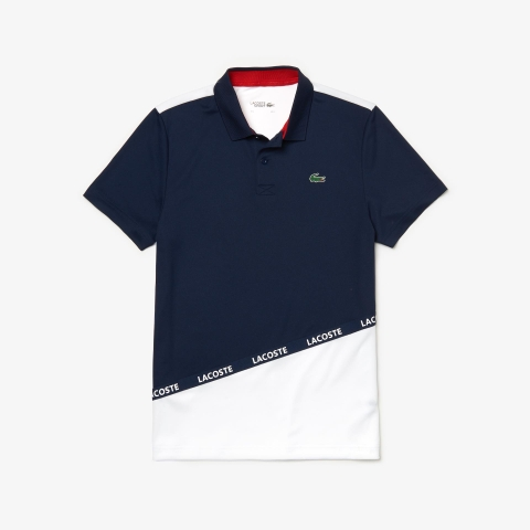 Lacoste Polo Sport Pique Navy White (form Âu)