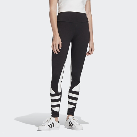 Adidas Legging Large Logo Black W