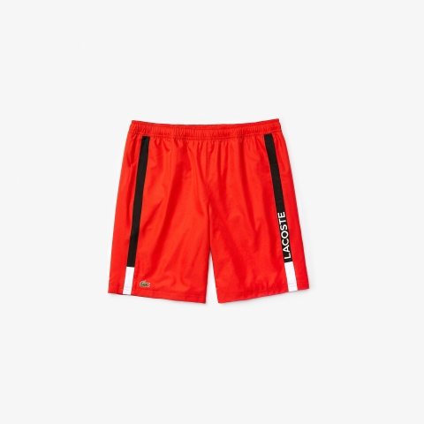 Lacoste Short SPORT Branned Red Black 2020