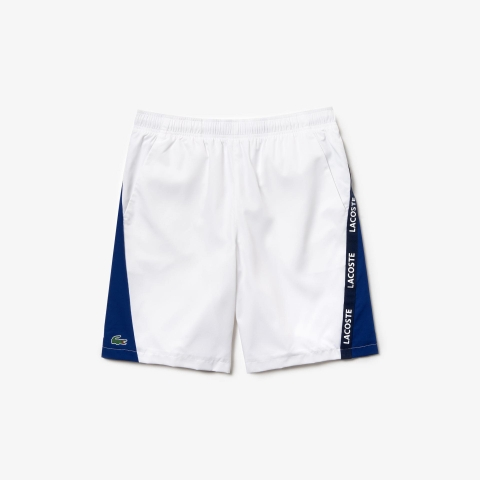 Lacoste Short Sport Two-Tone White (form Âu)