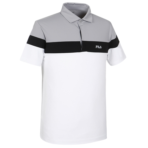Fila Polo Golf Grey White (form Á)
