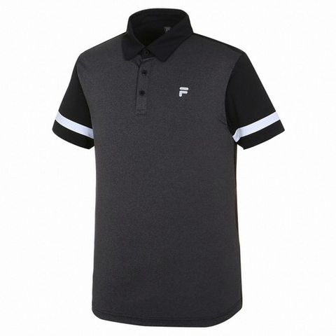 Fila Polo Golf Black Grey (form Á)
