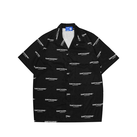 Dirtycoins Logo Pattern Shirt