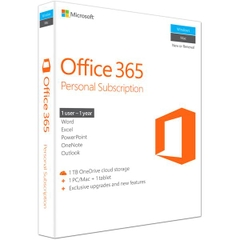 Phần mềm Office 365 Personal English APAC EM Subscr 1YR Medialess P2 (QQ2-00570)