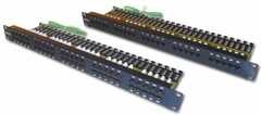 Patch panel for Telephone 25 port Dintek