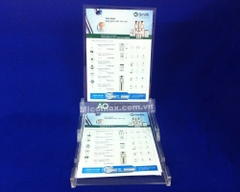KM-13112​ Double Sided Freestanding Leaflet/ticket/ Poster Holder