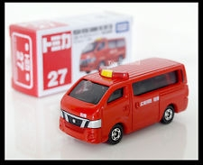 Mô hình ô tô 27 Nissan NV350 caravan fire command car box