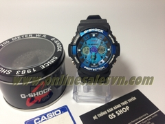 G-SHOCK GA-200 Super Fake ( Black Blue )