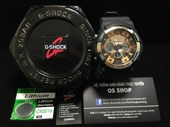 G-SHOCK GA-200 GOLD BLACK