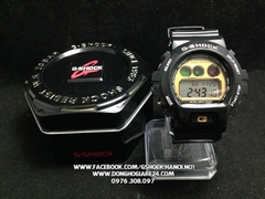 G-SHOCK DW-6900 GOLD BLACK