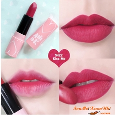 Son Amok vỏ hồng Kiss Me Luxury Lovefit - S422