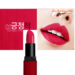 Son BbiA 02 Positive Last Lipstick Red Series