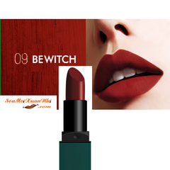 Son BbiA 09 Bewitch Last Lipstick vỏ xanh
