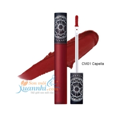 CM01 Đỏ Cam - Son kem lì Black Rouge Cream Matt Rouge