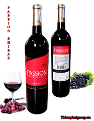 VANG PASSION SHIRAZ 750ml