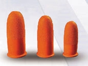 Orange Anti-slip Finger Cots