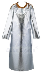 AL6 Aluminized Apron With Sleeves