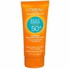 Kem chống nắng L'OREAL PARIS ADVANCED SUNCARE SILKY SHEER LOTION 50+