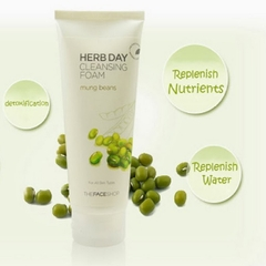 Sữa rửa mặt Herb 365 Day Cleansing Foam TheFace Shop 170ml