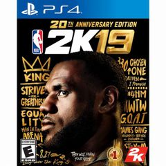NBA 2K19 20TH ANNIVERSARY EDITION game ps4