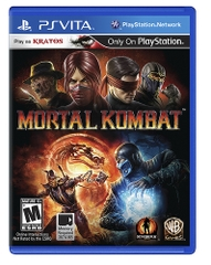 PS VITA MORTAL KOMBAT
