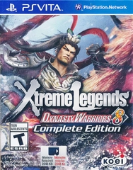 game card PSVITA DYNASTY WARRIOR 8 XTREME LEGENDS COMPLETE EDITION