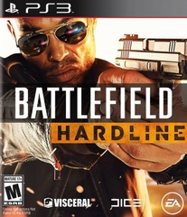 Battlefield HARDLINE game ps3
