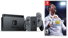 Máy chơi game Nintendo Switch Gray  + FIFA 18