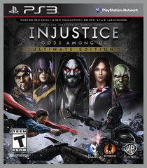 PS3 INJUSTICE: GODS AMONG US Ultimate Edition