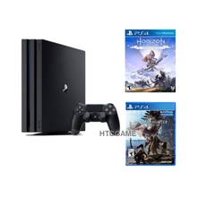 Sony PS4 PRO 4K 1TB + 2 đĩa Monster Hunter World và Horizon Zero Dawn CE