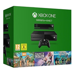 Máy Xbox One 500GB kèm Kinect + 3 Game Value Bundle (Kinect Sports Rivals, Zoo Tycoon and Dance Central)