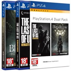 Dual Pack: The Last of Us Remastered + Bloodborne The Old Hunters Edition