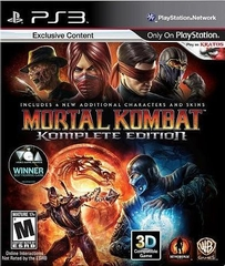 PS3 MORTAL KOMBAT (Komplete Edition)