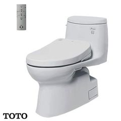 Bàn cầu TOTO 1 khối MS905W4 (Made in Indonesia)