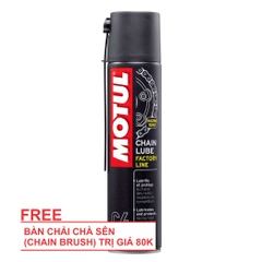 Xịt sên Motul Chain Lube 400ml