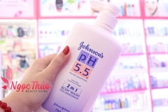 Sữa Tắm pH 5.5 Johnson's 2in1