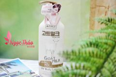 Kem tắm Made in Nature Goat Milk