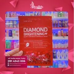 Mặt Nạ Some By Mi Diamond Brightening Sheet Mask 25g