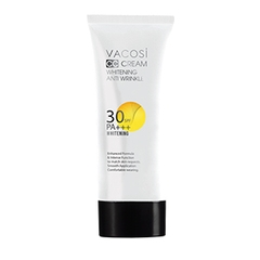 Kem nền CC Vacosi Whitening Anti Wrinkle SPF 30 PA++ - 60ml