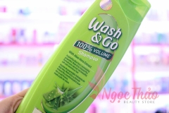 Dầu gội Wash & Go With Aloe Vera Extract