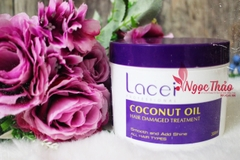 Hấp Lacie coconut oil hair damaged treatment
